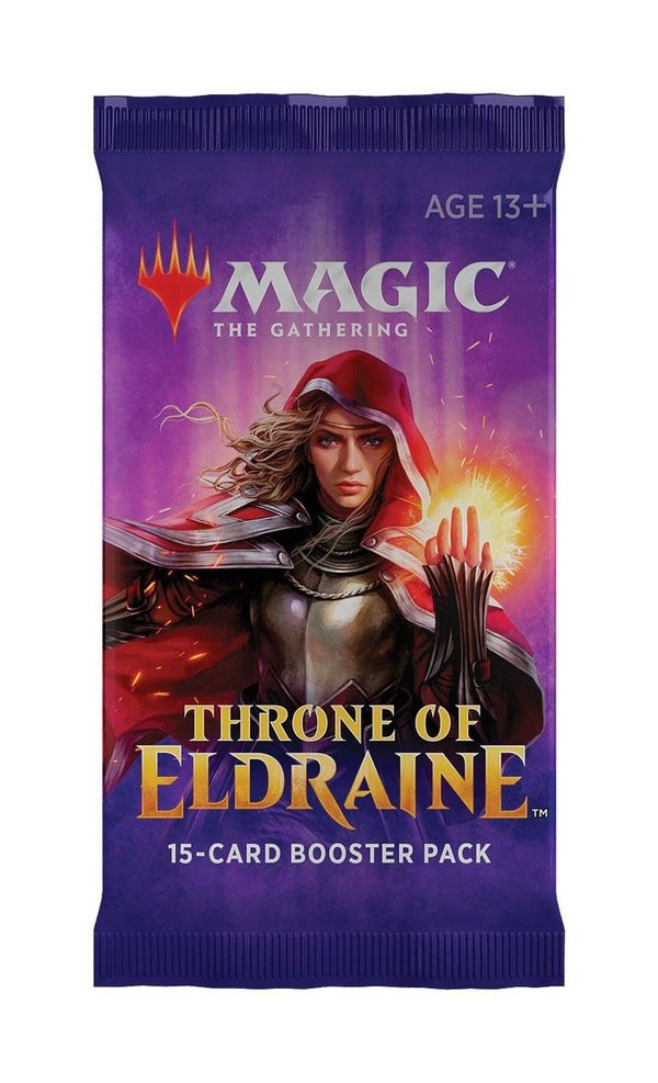 MTG: Magic the Gathering - Thron of Eldraine Booster (EN)