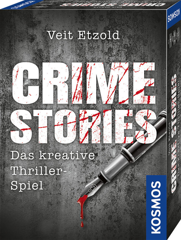 Veit Etzold Crime Stories - Das kreative Thriller-Spiel