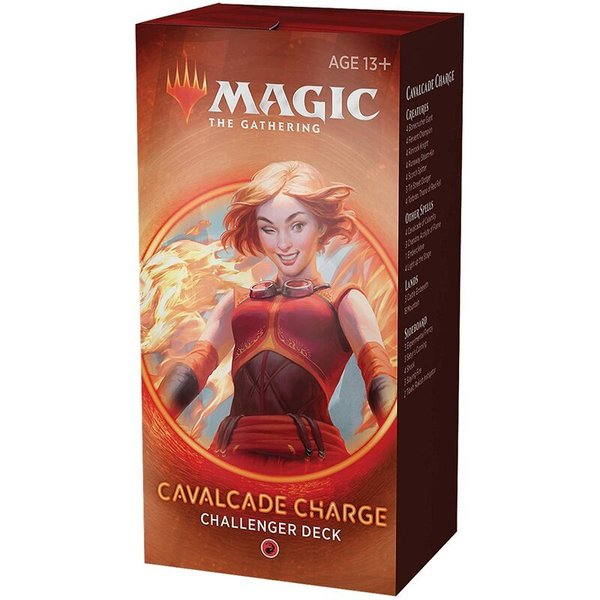 MTG: Magic the Gathering - Challenger Deck 2020 Cavalcade Charge (ENGLISCH)