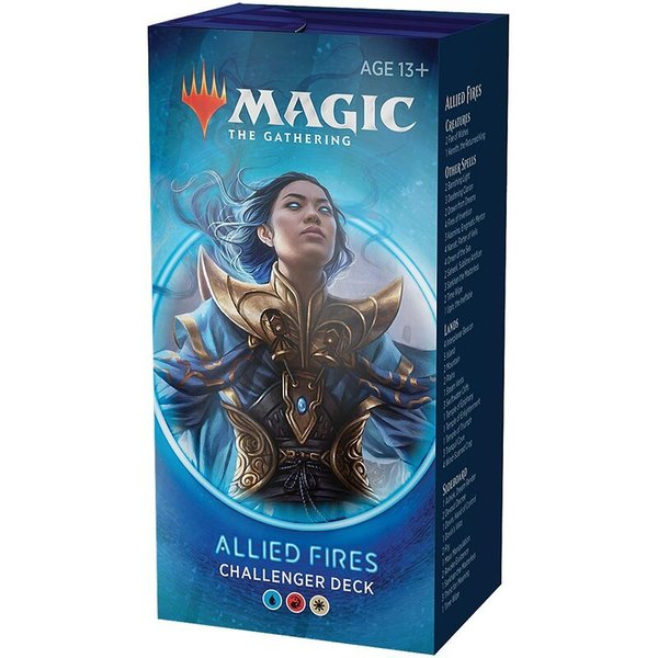 MTG: Magic the Gathering - Challenger Deck 2020 Allied Fires (ENGLISCH)