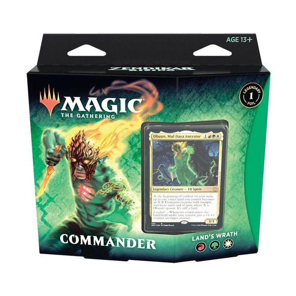 MTG: Magic the Gathering - Zendikar Rising Commander-Deck - Land´s Wrath - (EN)