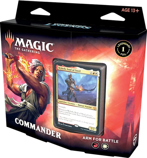 MTG: Magic the Gathering - Commander Legenden Commander-Deck - Arm for Battle - EN