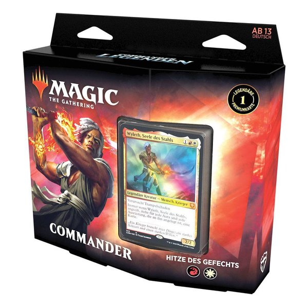MTG: Magic the Gathering - Commander Legenden Commander-Deck - Hitze des Gefechts - DE