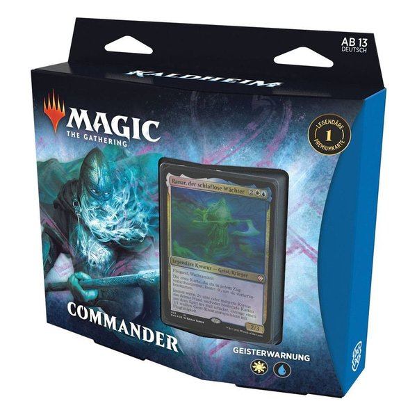 MTG: Magic the Gathering Kaldheim Commander-Deck - Geisterwarnung (DE)