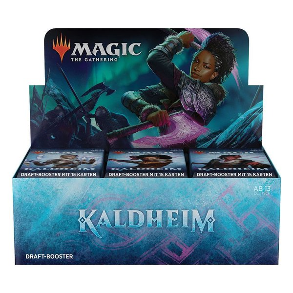 MTG: Magic the Gathering Kaldheim Draft-Booster Display (36) (DE)