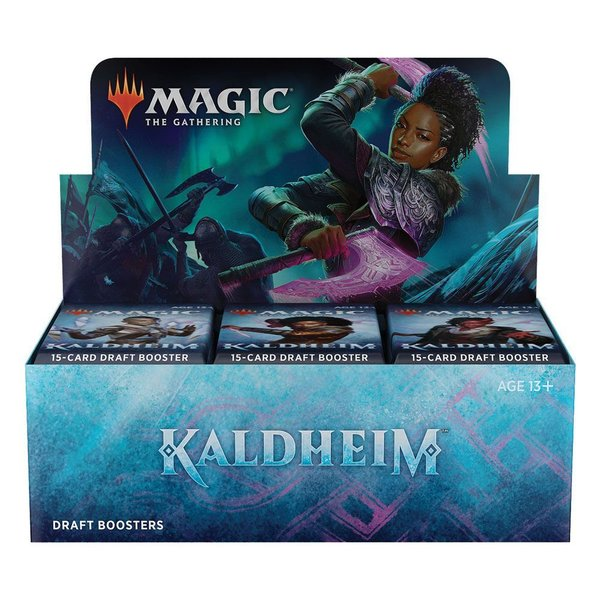 MTG: Magic the Gathering Kaldheim Draft-Booster Display (36) (EN)