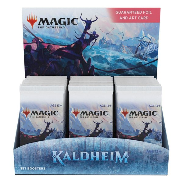 MTG: Magic the Gathering Kaldheim Set-Booster Display (30) (EN)