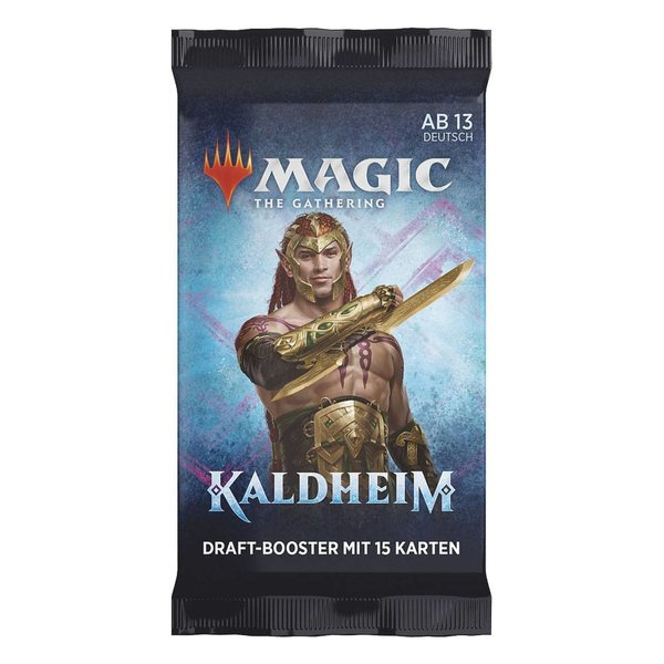 MTG: Magic the Gathering Kaldheim Draft-Booster (1er) (DE)