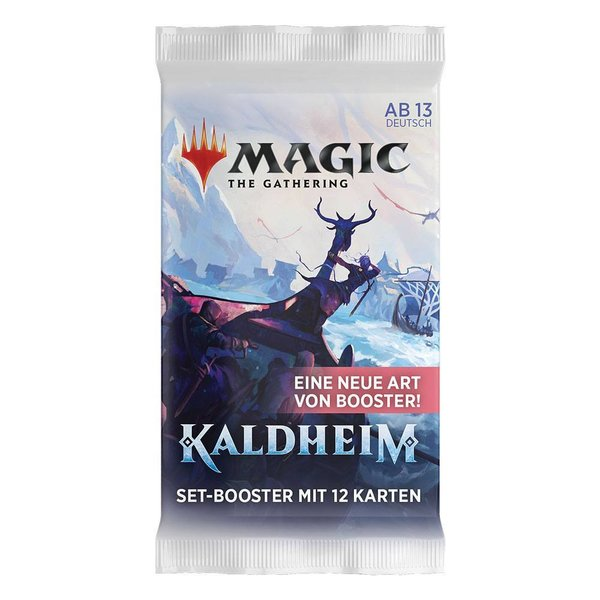 MTG: Magic the Gathering Kaldheim Set-Booster (1er) (DE)