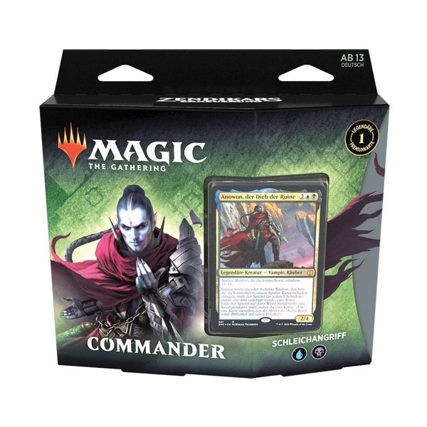 MTG: Magic the Gathering - Zendikars Erneuerung Commander-Deck - Schleichangriff - (DE)