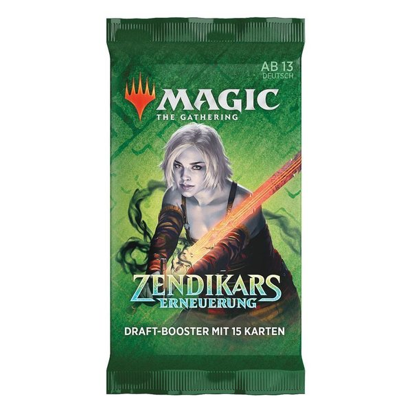 MTG: Magic the Gathering Zendikars Erneuerung Draft-Booster (1er) (DE)