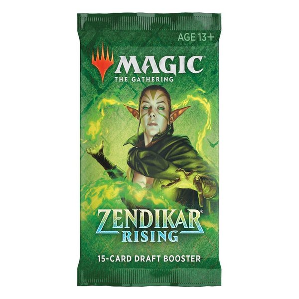 MTG: Magic the Gathering Zendikar Rising Draft-Booster (1) (EN)