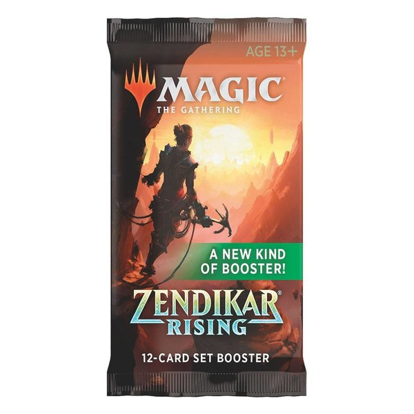 MTG: Magic the Gathering Zendikar Rising Set-Booster (1er) (EN)
