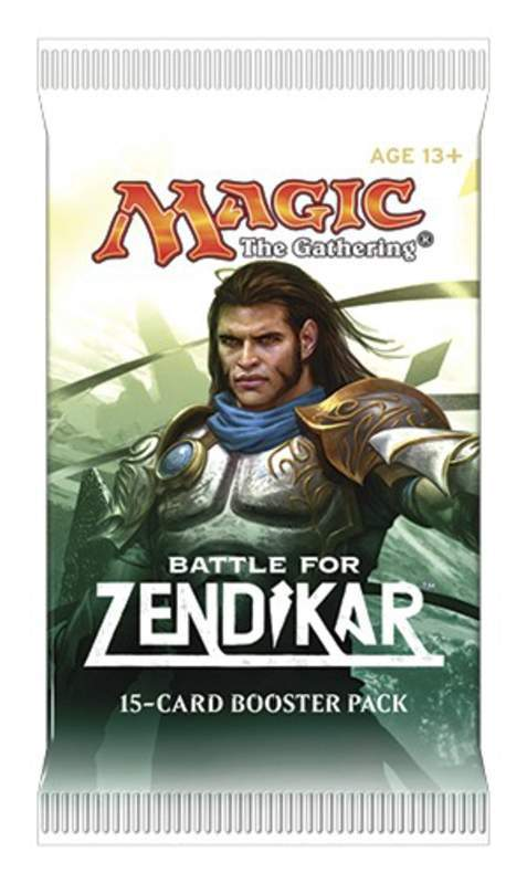 MTG: MTG Booster - Battle for Zendikar (1er)  (EN)