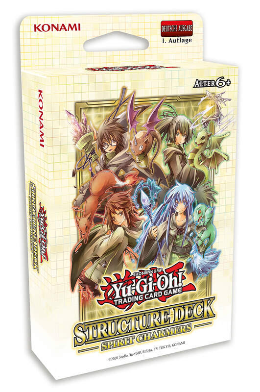 Yu-Gi-Oh! - YGO Spirit Charmers - Structure Deck - DE