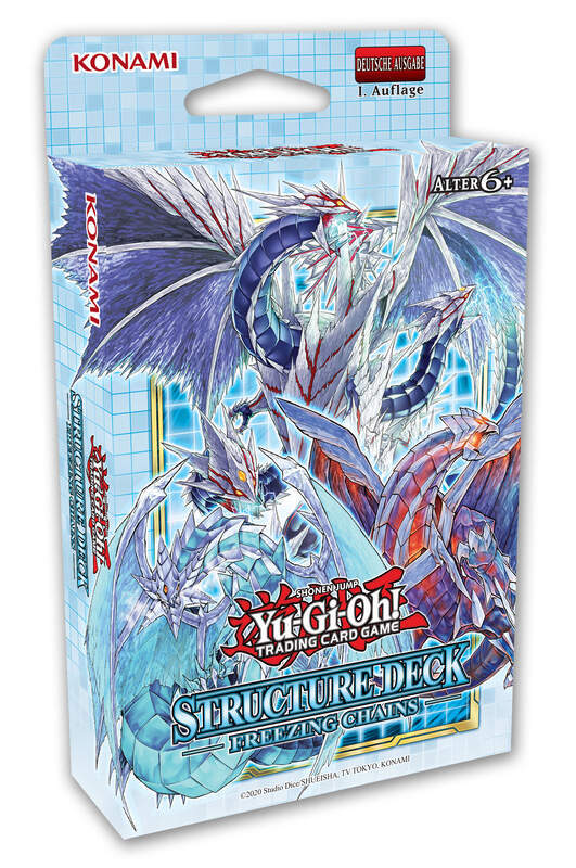 Yu-Gi-Oh! - YGO Freezing Chains - Structure Deck - DE