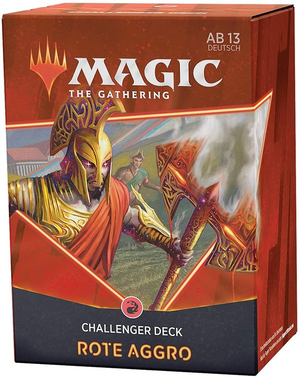 MTG: Magic the Gathering Challenger Deck 2021 - Mono-Rot Aggro (ENGLISCH)