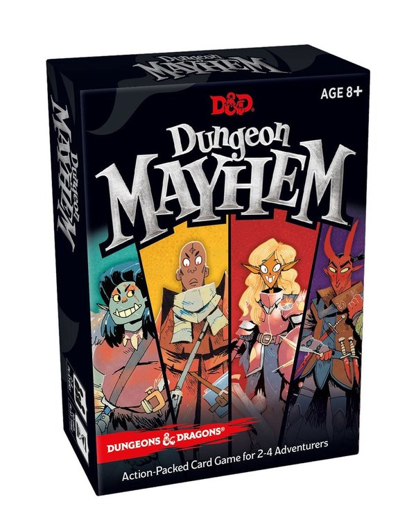 Dungeons & Dragons Kartenspiel Dungeon Mayhem - DE