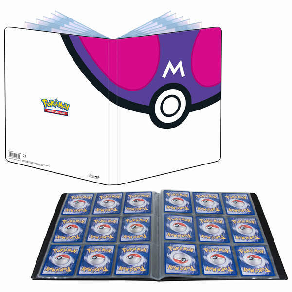 PKM Master Ball 9-Pocket Portfolio